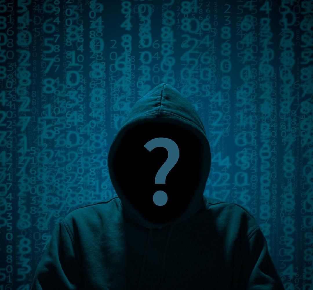 Fragezeichen Hacker Hoodie